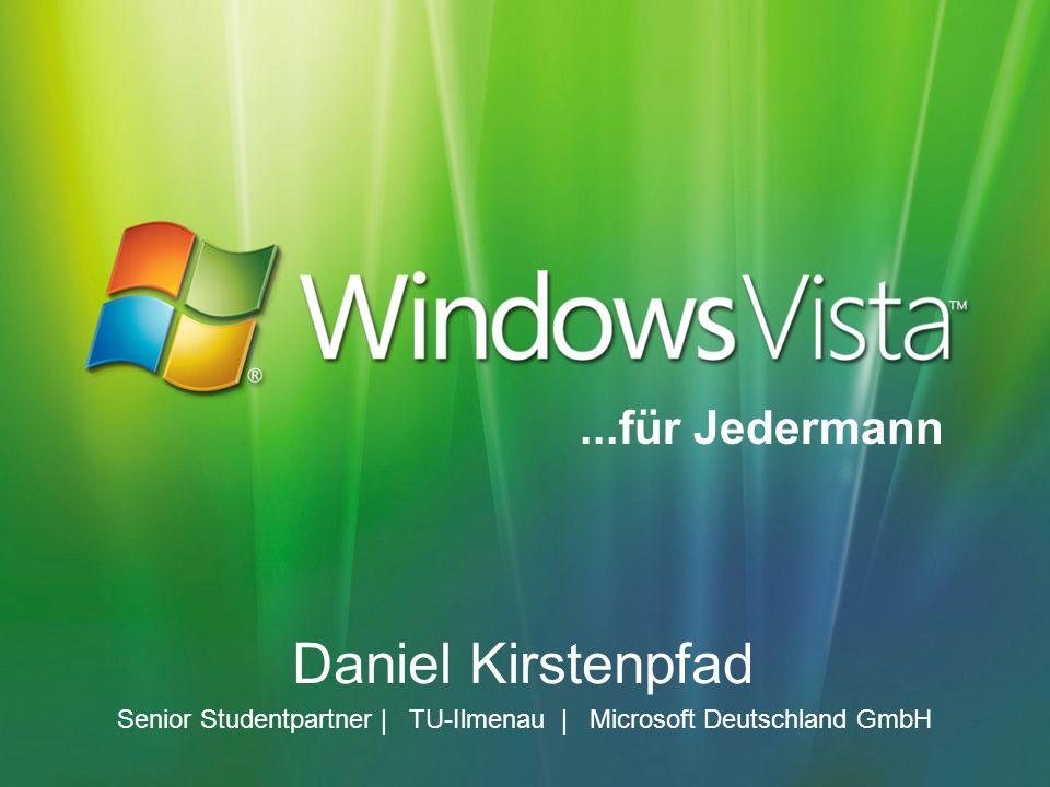 Daniel Kirstenpfad Senior Studentpartner | TU-Ilmenau | Microsoft Deutschland GmbH...für Jedermann