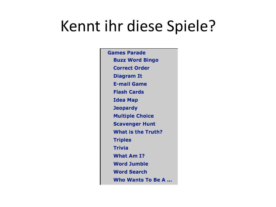 Oder hier sind noch andere Vorschläge… Von Andrea: http://pwidergren.net/http://pwidergren.net/ Oder http://gbs.glenbrook.k12.il.us/Academics/For eignLanguage/german%20page.htm Danke Frau Dost http://gbs.glenbrook.k12.il.us/Academics/For eignLanguage/german%20page.htm