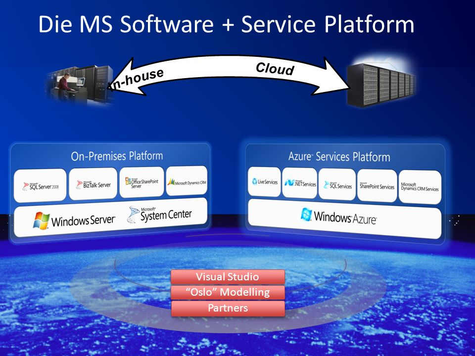 Die MS Software + Service Platform