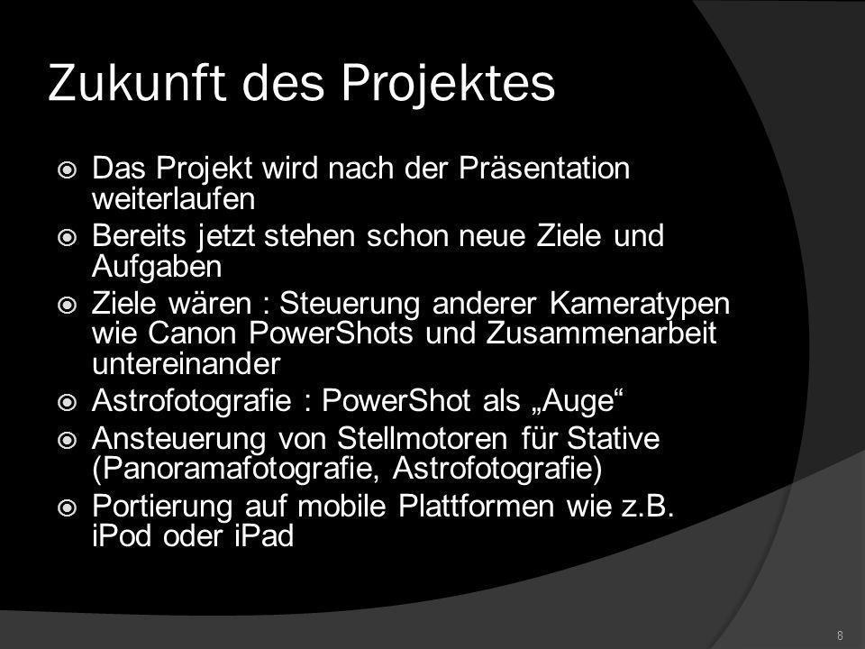 Projektzusammenfassung Quellcodezeilen : Arbeitszeit : 7