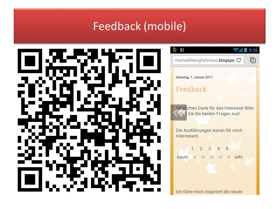 Feedback (mobile)
