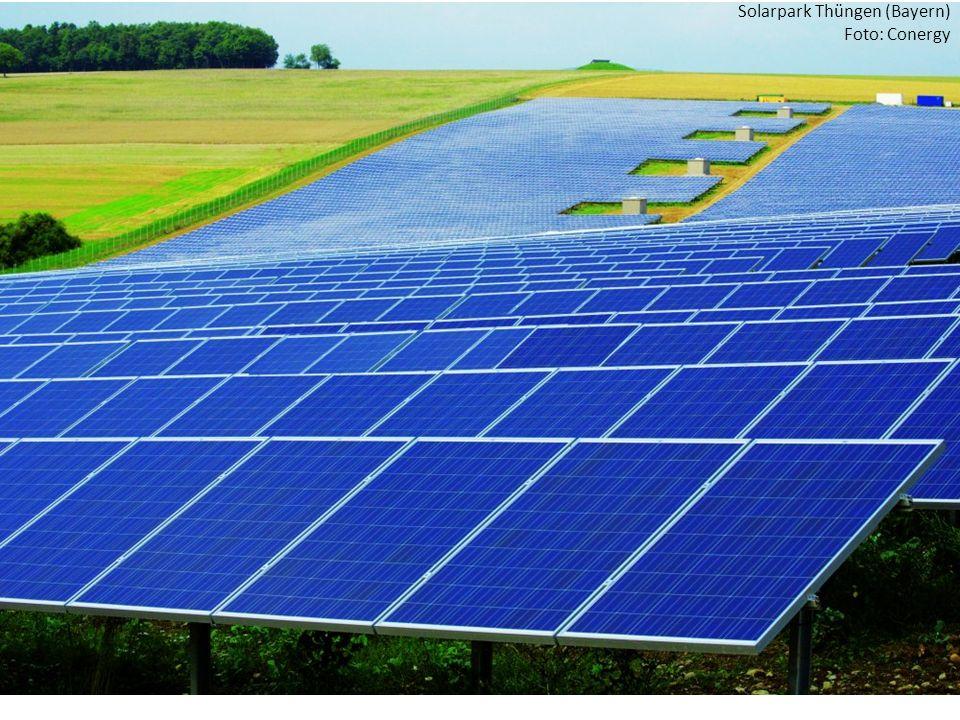 Zuspitzung Solarpark Thüngen (Bayern) Foto: Conergy