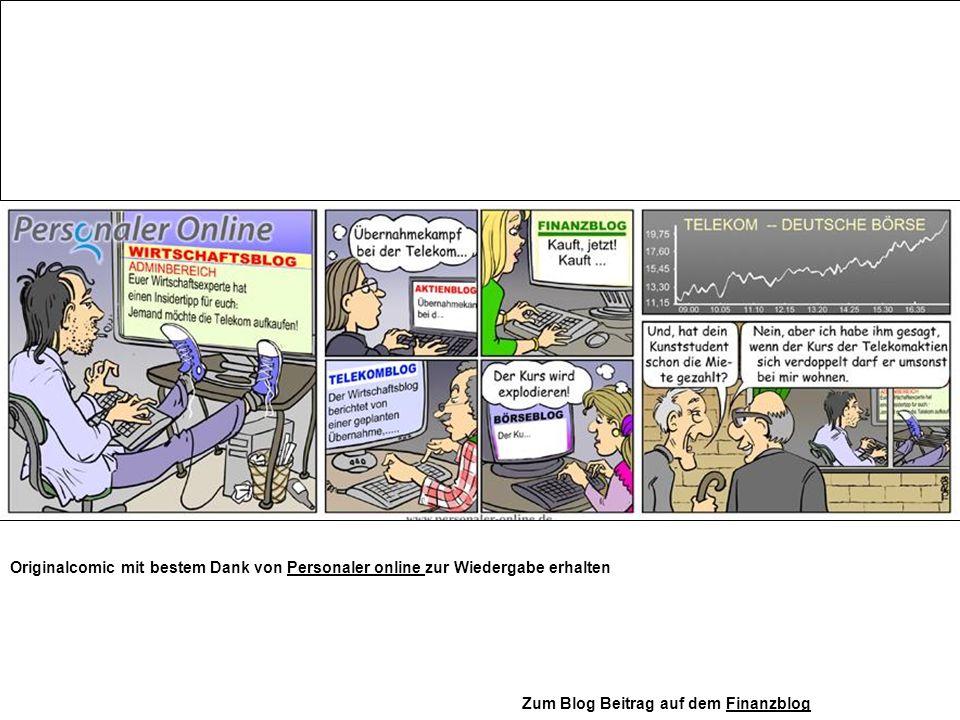Originalcomic mit bestem Dank von Personaler online zur Wiedergabe erhaltenPersonaler online Zum Blog Beitrag auf dem FinanzblogFinanzblog