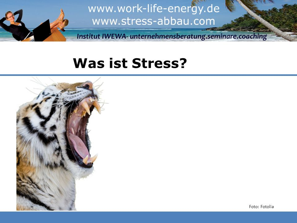 Was ist Stress? Foto: Fotolia