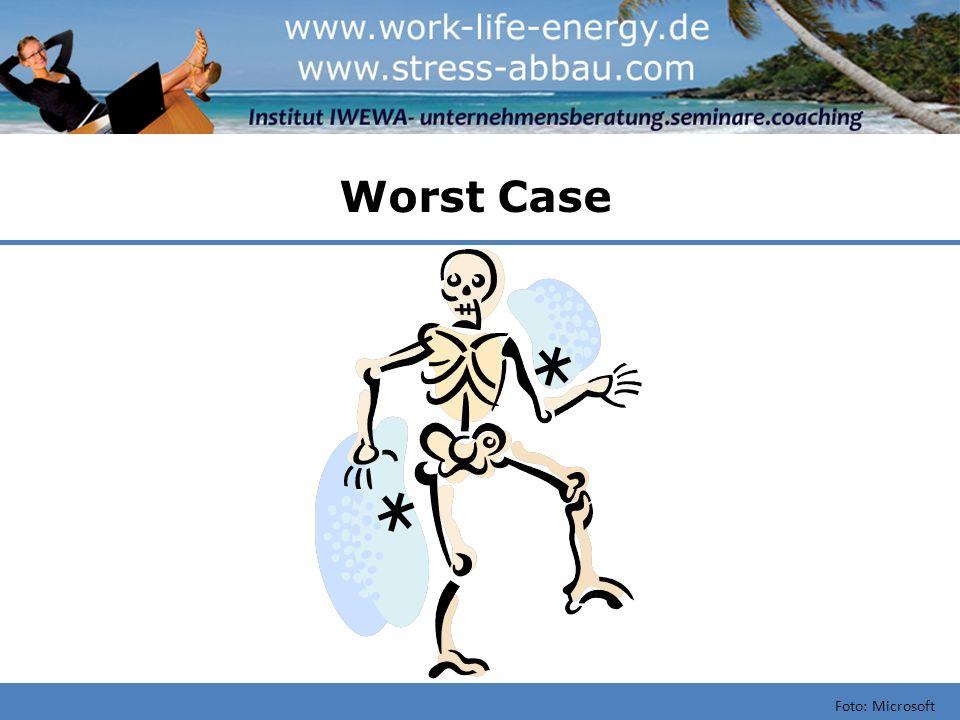 Typische Ursachen von Stress Foto: Microsoft Externe Faktoren, Machtlosigkeit..
