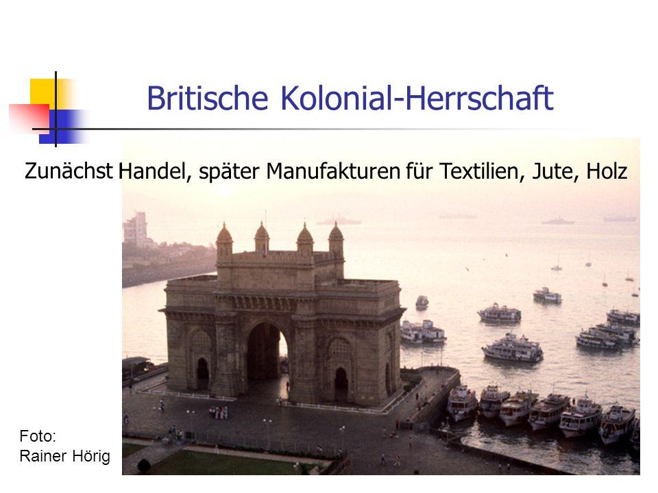 Zunächst Handel, später Manufakturen für Textilien, Jute, Holz Handel, später Manufakturen für Textilien, Jute, Holz Foto: Rainer Hörig