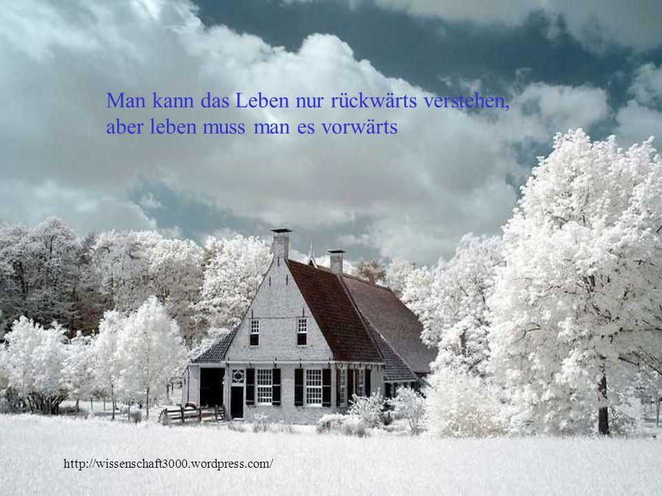 http://wissenschaft3000.wordpress.com/ Halte das Glück wie einen Vogel: so leise und so lose wie möglich.