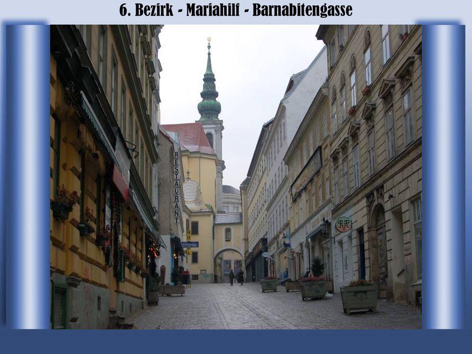 6. Bezirk - Mariahilf - Die Mariahilfer Straße