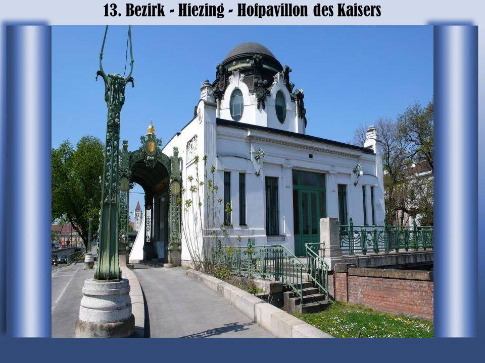 13. Bezirk - Hiezing - Wienfluss und Amtshaus