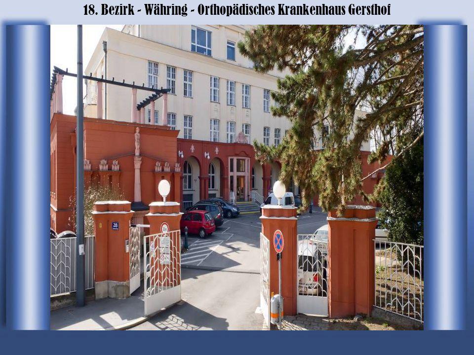 18. Bezirk - Währing - Wilhelm Exner Haus Uni für BOKU