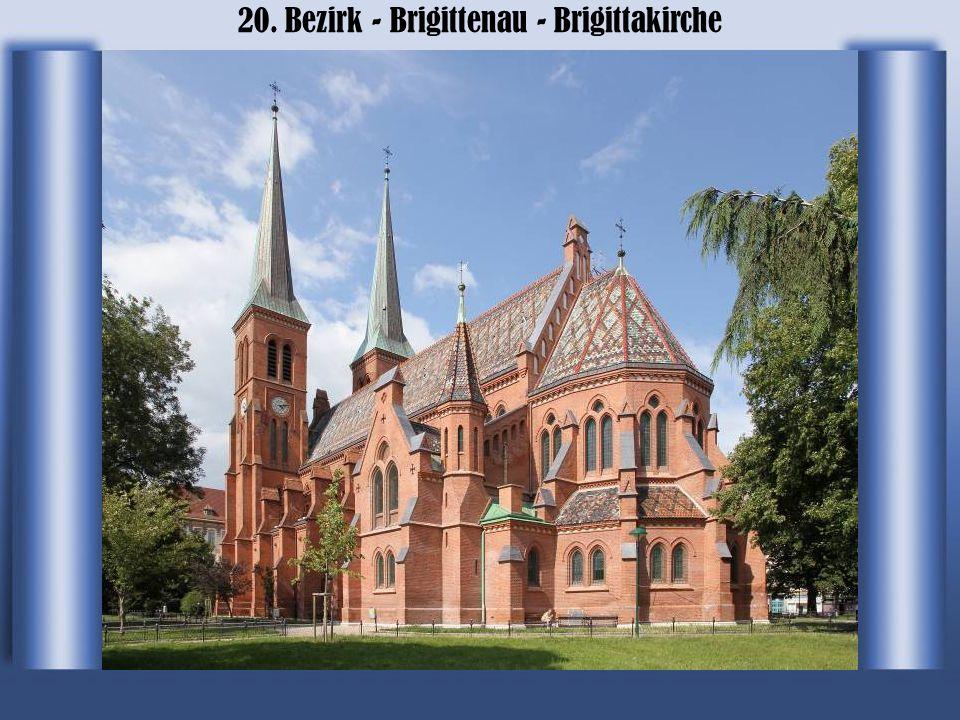 20. Bezirk - Brigittenau - Brigittenauer Bruecke
