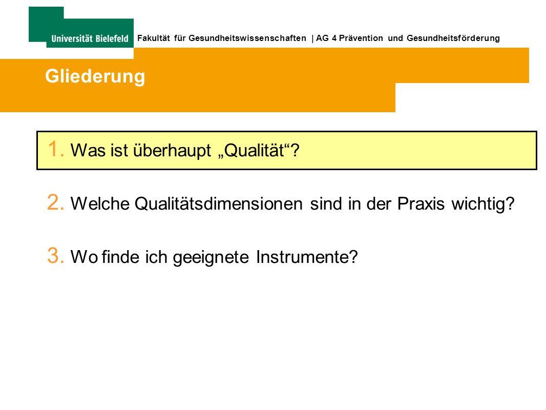 43 Fakultät für Gesundheitswissenschaften   AG 4 Prävention und Gesundheitsförderung www.quint-essenz-info.de