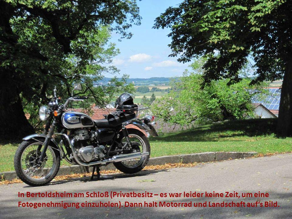 In Bertoldsheim am Schloß (Privatbesitz – es war leider keine Zeit, um eine Fotogenehmigung einzuholen).