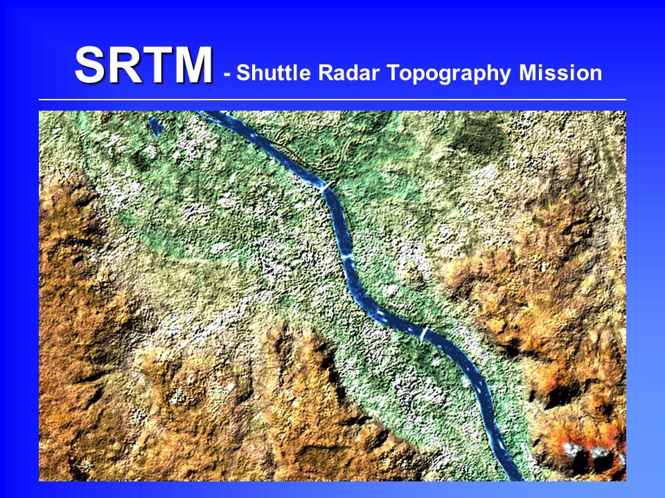 SRTM Beispielbilder (Bonn und Umgebung) - Shuttle Radar Topography Mission