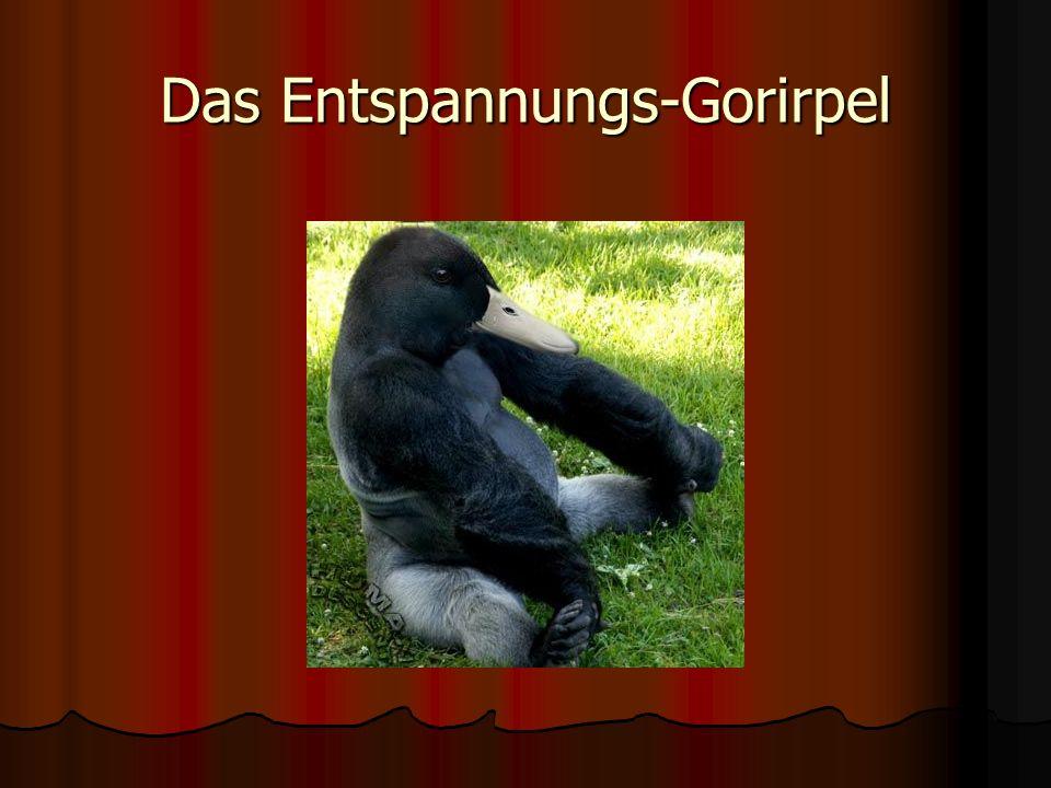 Das Entspannungs-Gorirpel