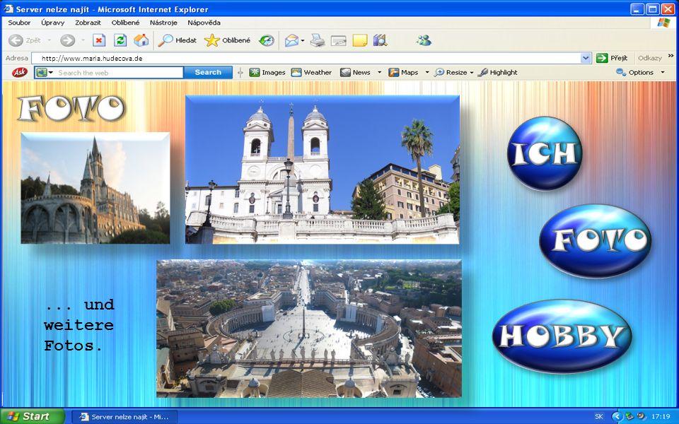 http://www.maria.hudecova.de... und weitere Fotos.