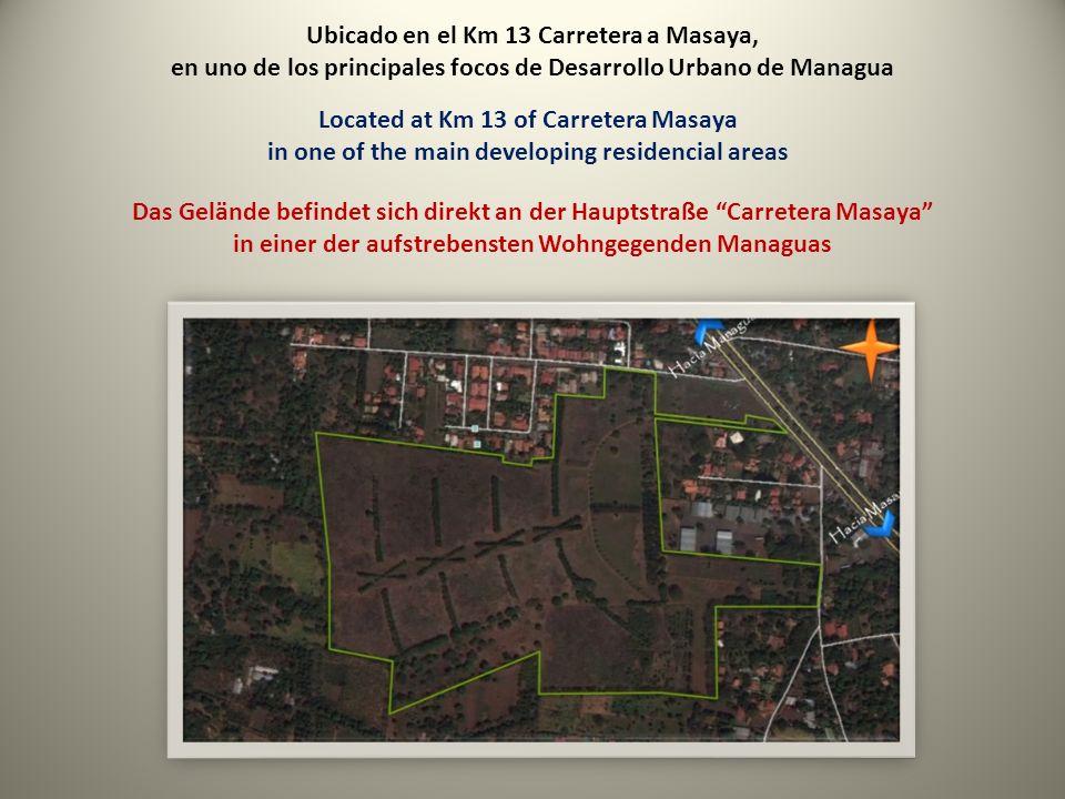 Con un area de 47,386 manzanas With an area of 47,386 manzanas (82 acres) Mit einer Fläche von 47,386 manzanas (34 Hektar)