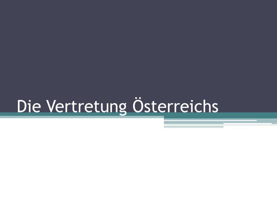 Die Vertretung Österreichs