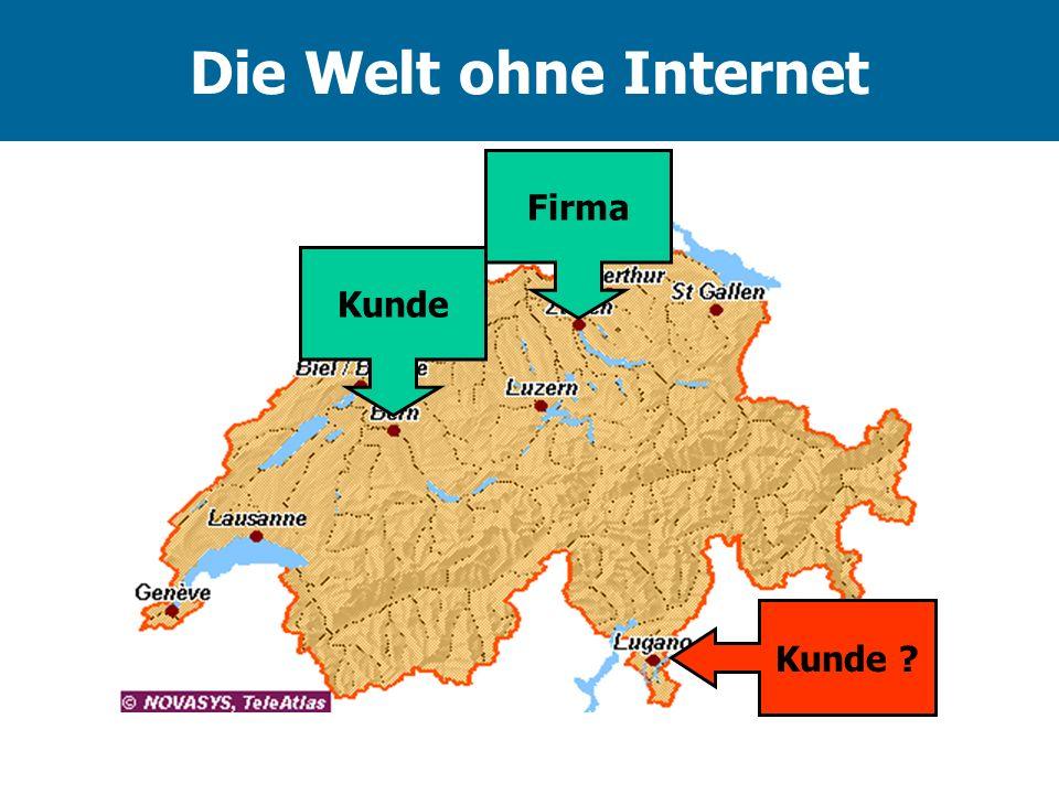 Die Welt ohne Internet Kunde Firma Kunde ?