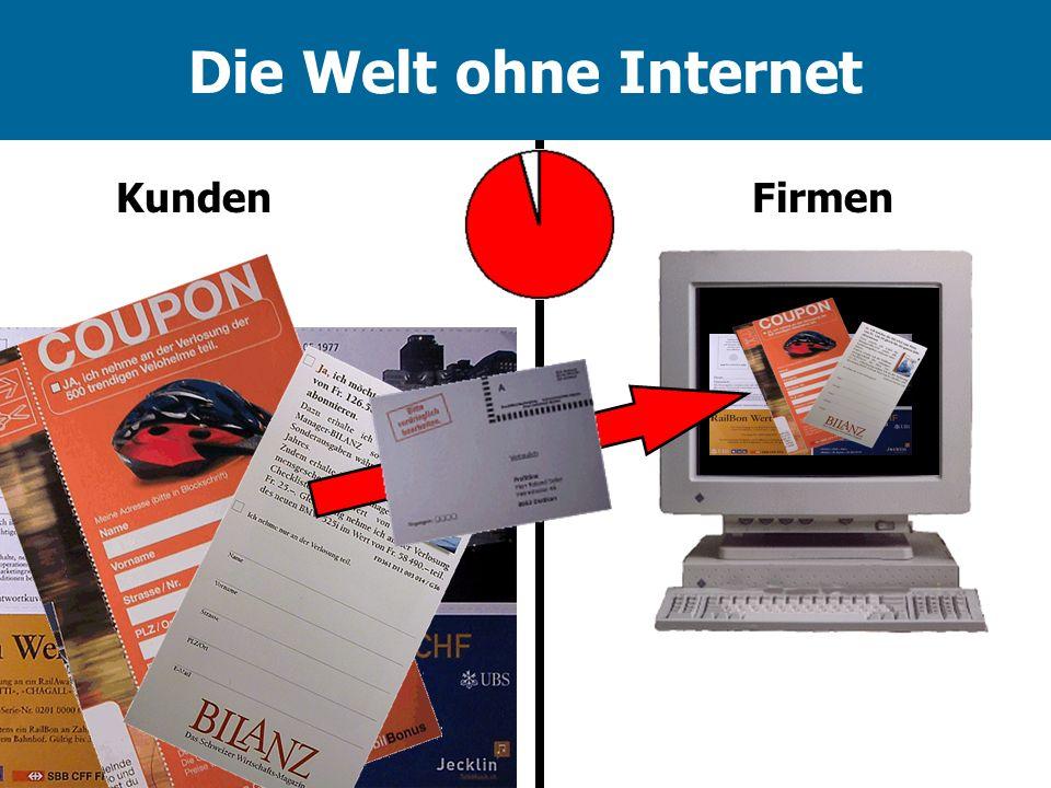 Die Welt ohne Internet KundenFirmen