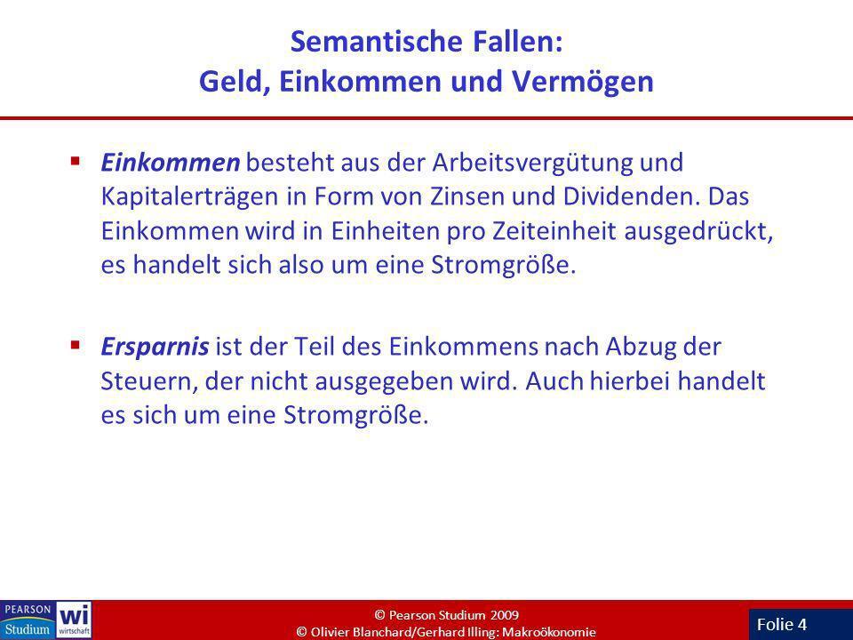 Folie 15 Geldnachfrage und Zinsen – Empirische Evidenz (Deutschland, 1970-2005) Auch in Deutschland bewegen sich Zinssatz und Kassenhaltungskoeffizient gegenläufig.