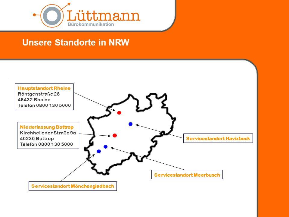 1. Kurzvorstellung Lüttmann Bürokommunikation GmbH 3. Die Ausgangssituation 4. Die Lösung 5. Die Vorteile 6. Die Vorgehensweise und Umsetzung 2. Die K