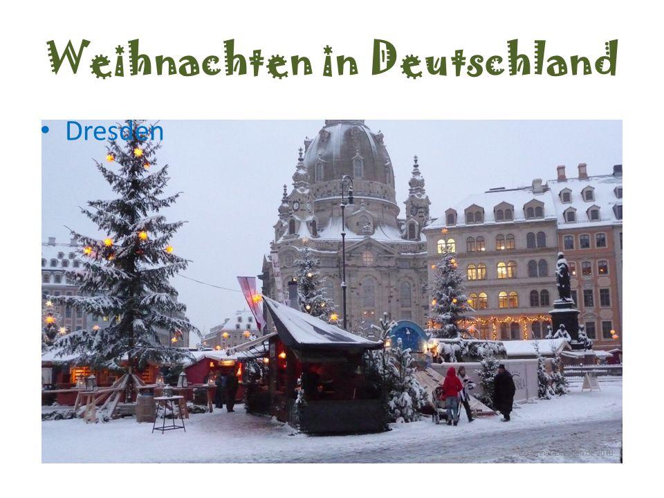 Weihnachten in Deutschland Dresden
