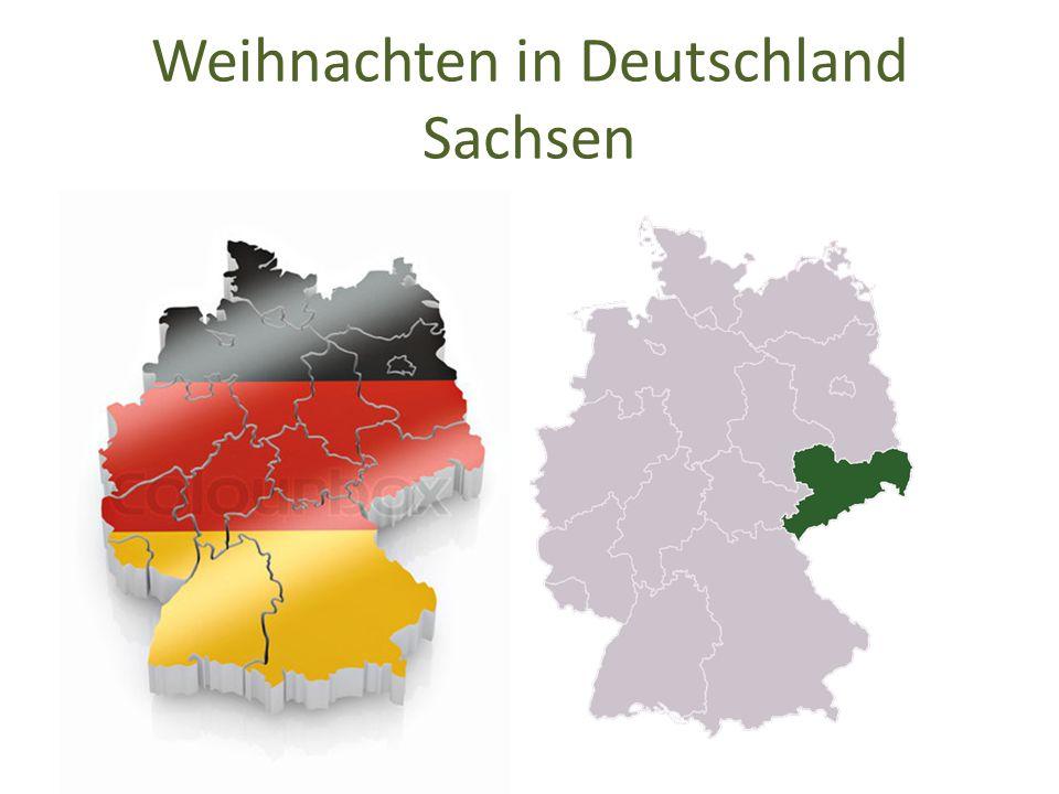 Weihnachten in Deutschland Sachsen