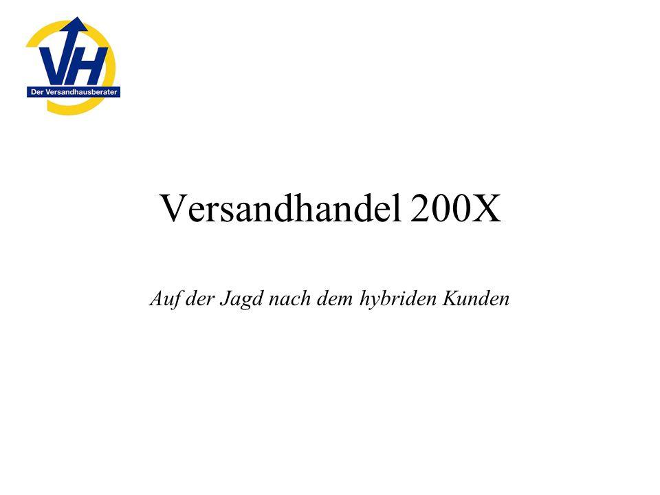 Versandhandel 200X Auf der Jagd nach dem hybriden Kunden