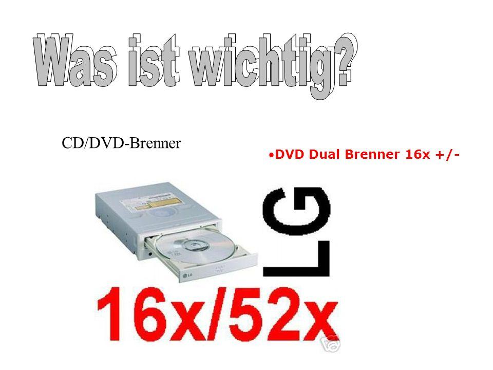 CD/DVD-Brenner DVD Dual Brenner 16x +/-
