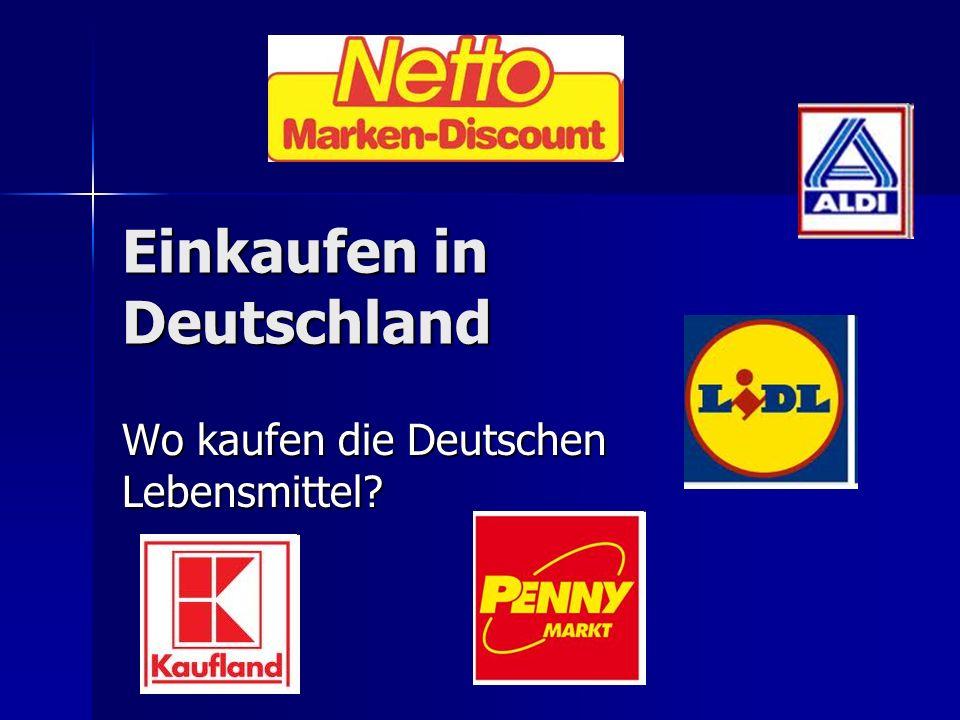 Freitags ist Haupteinkaufstag Freitags ist Haupteinkaufstag Montags kaufen die Deutschen weniger ein Montags kaufen die Deutschen weniger ein Großeinkäufe werden mit dem Auto gemacht und nicht unbedingt im nächsten Supermarkt, einmal pro Woche Großeinkäufe werden mit dem Auto gemacht und nicht unbedingt im nächsten Supermarkt, einmal pro Woche