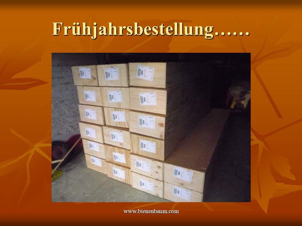 www.bienenbaum.com Frühjahrsbestellung……