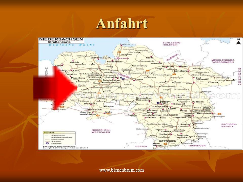 www.bienenbaum.com Anfahrt