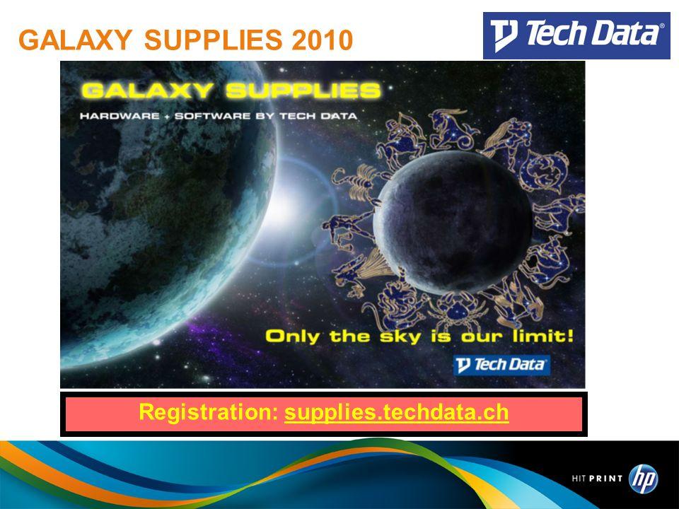 GALAXY SUPPLIES 2010 Registration: supplies.techdata.ch
