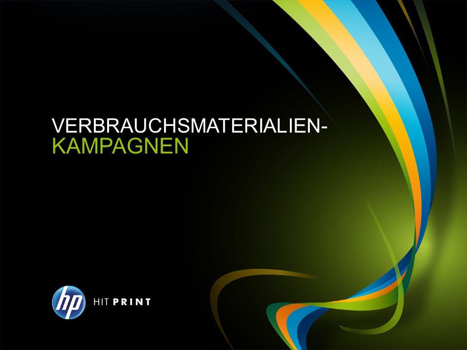 KAMPAGNE 1 STEIGERUNG DES ANTEILS AN HP PRODUKTEN BEI KUNDEN MIT WECHSELNDEN LIEFERANTEN