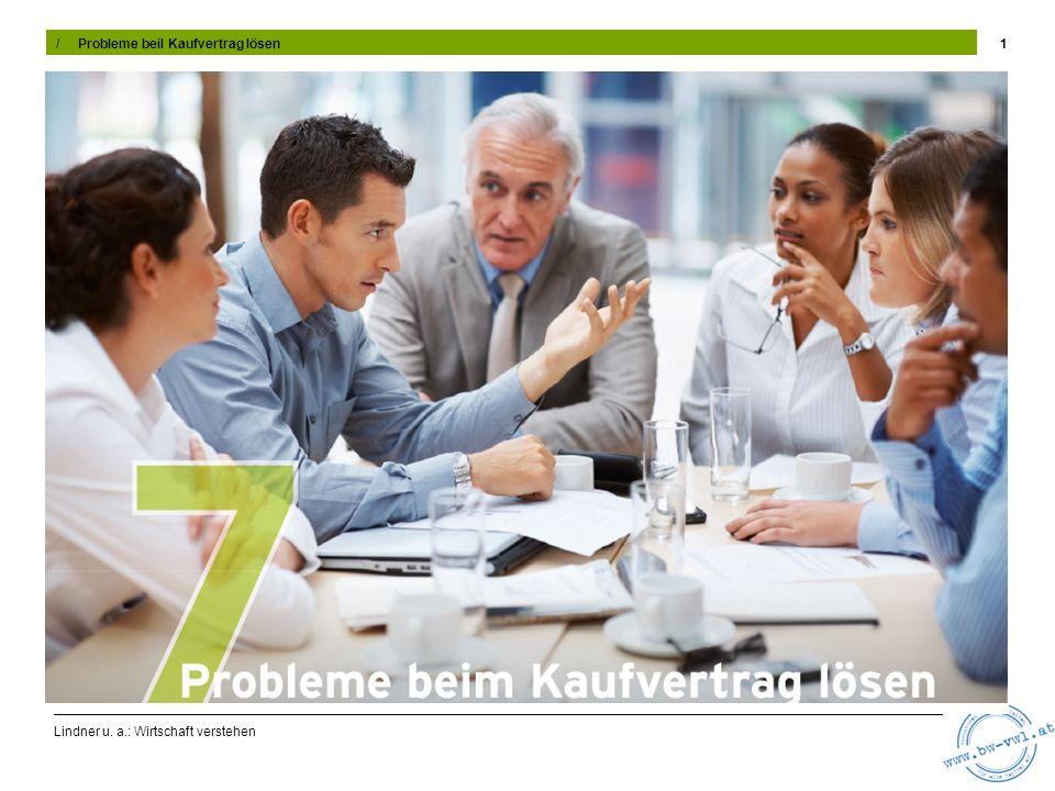 Lindner u.a.: Wirtschaft verstehen 12 7.5 Zahlungsverzug Problem: Zahlungsverzug Die Klage (bzw.