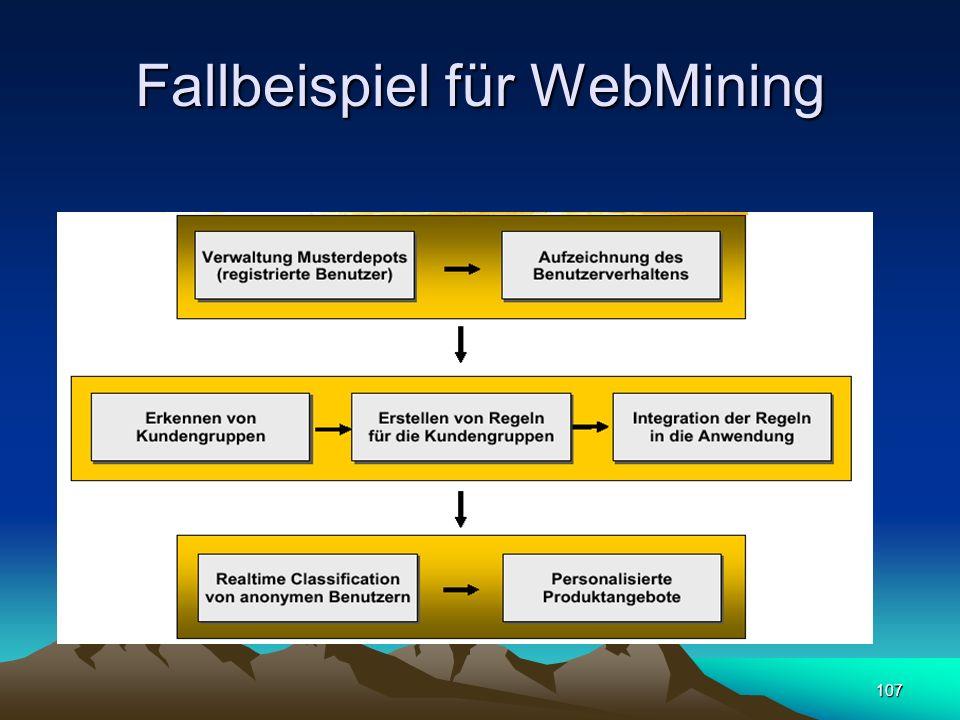 107 Fallbeispiel für WebMining