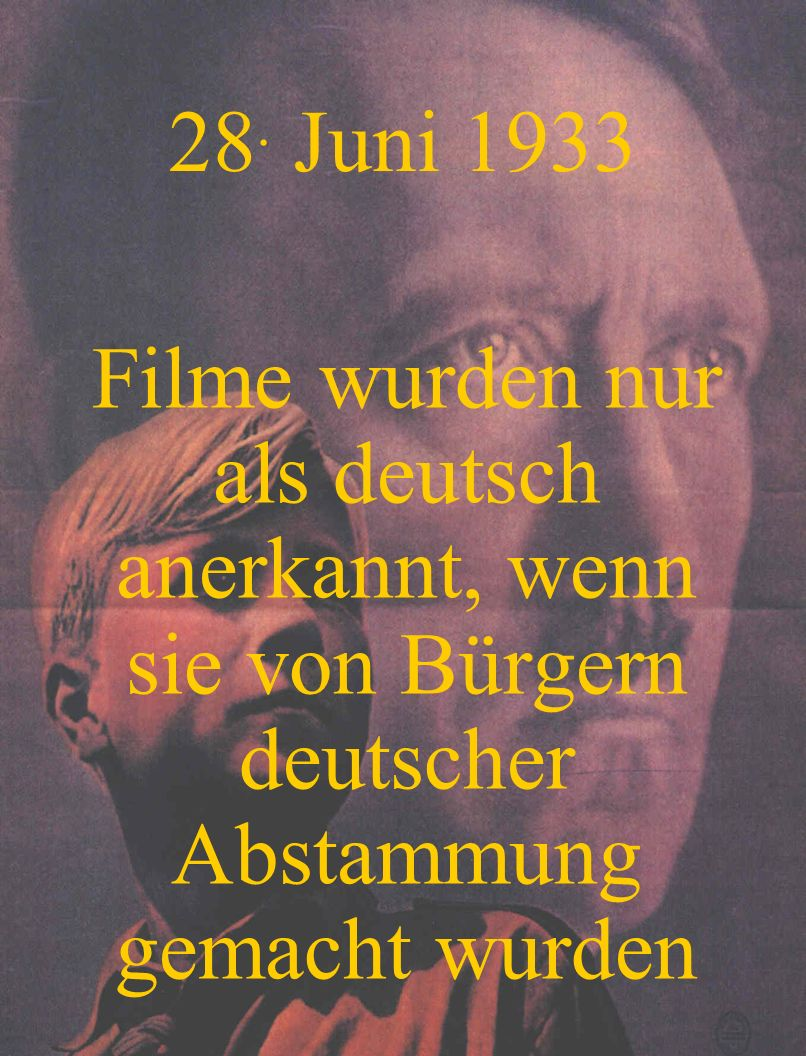 9. Juli 1933 Juden wurden von der deutschen Schachvereinig- ung ausgeschlossen