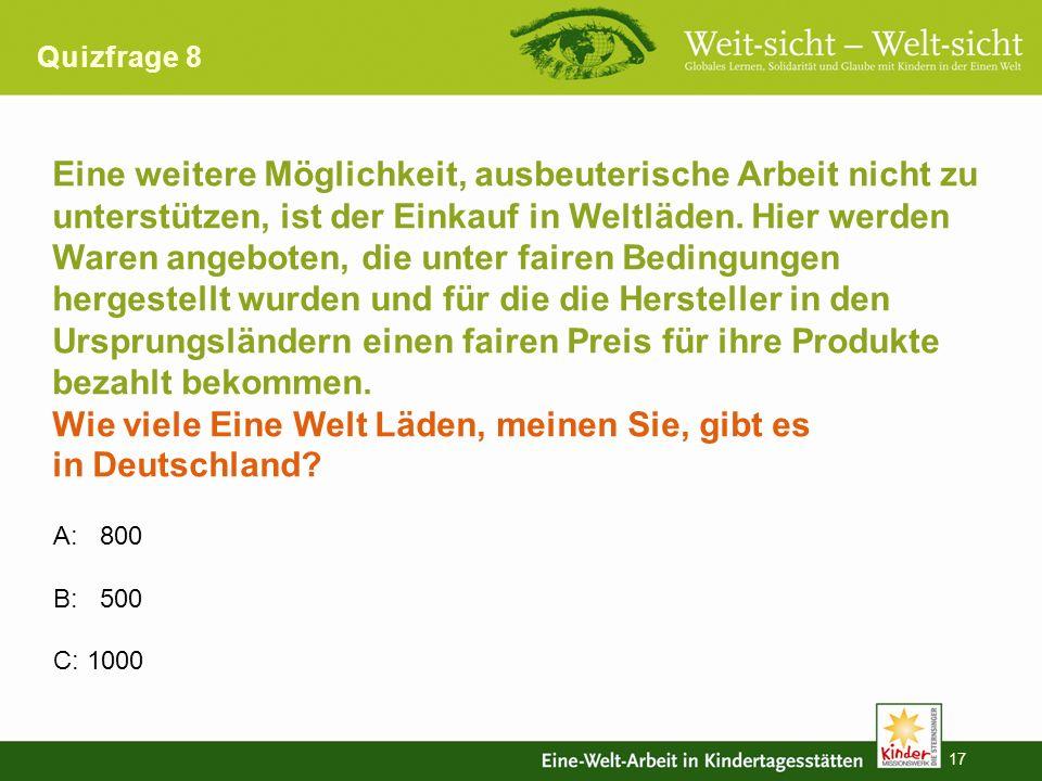 16 Antwort 7 C: Teddybär