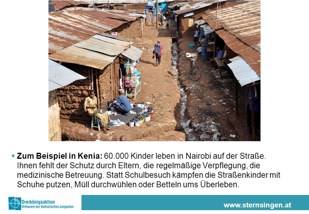 www.sternsingen.at Unsere Partnerorganisation Rescue Dada – das bedeutet Rette die Schwester.