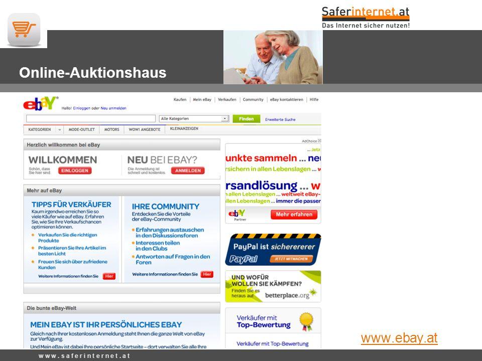 w w w. s a f e r i n t e r n e t. a t Privatverkäufe www.willhaben.at