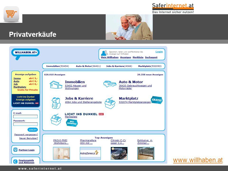 E-Commerce-Gütezeichen w w w.s a f e r i n t e r n e t.