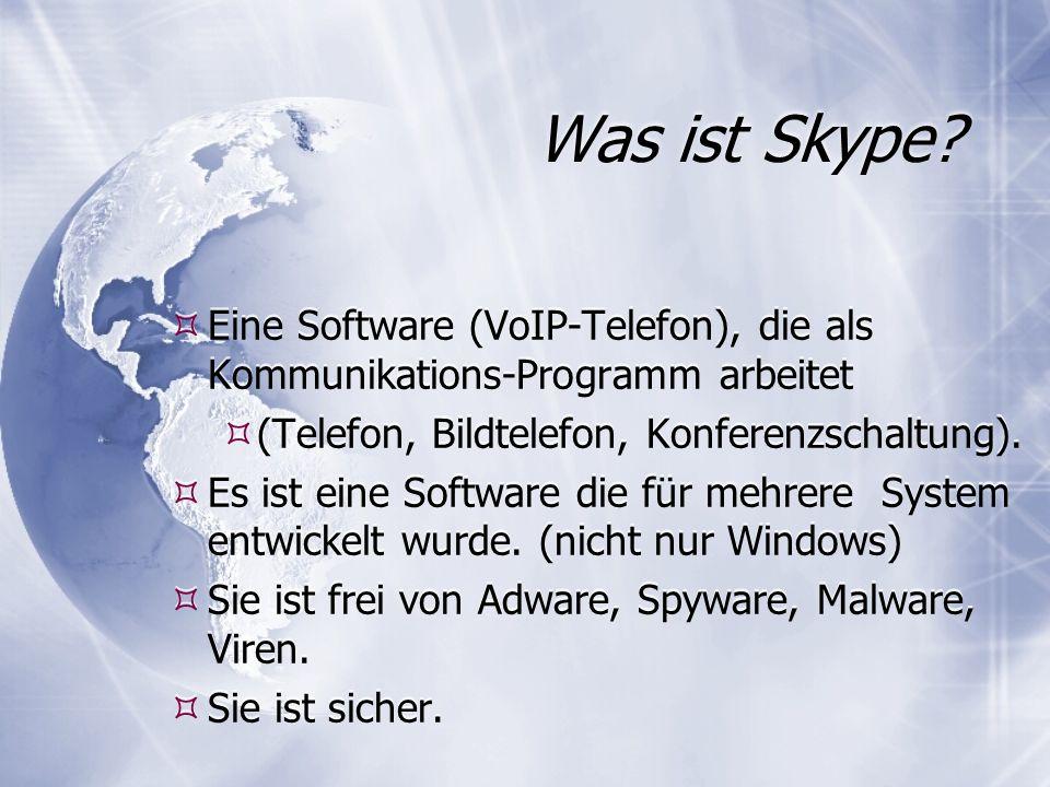 Was ist Skype.