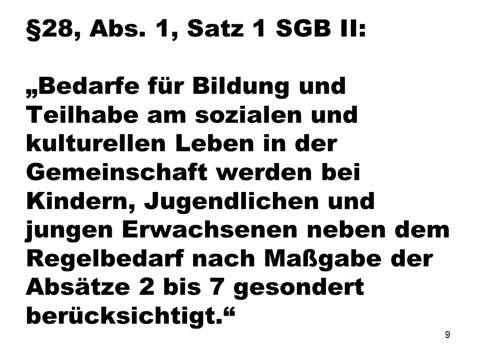 9 §28, Abs.
