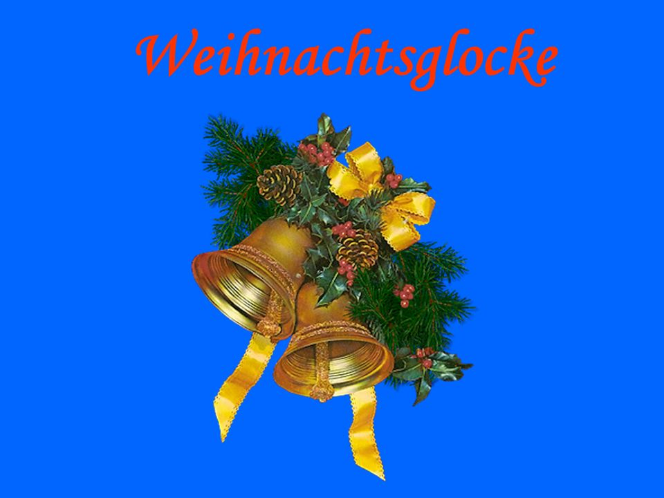 Weihnachtsglocke