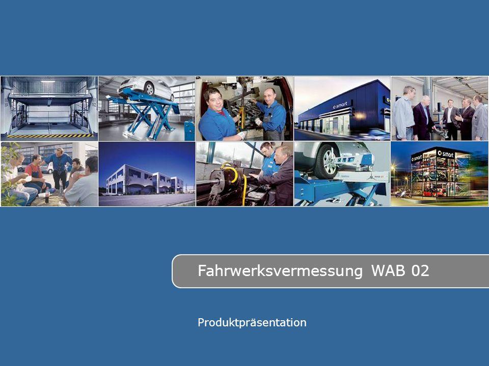 Fahrwerksvermessung WAB 02 Produktpräsentation