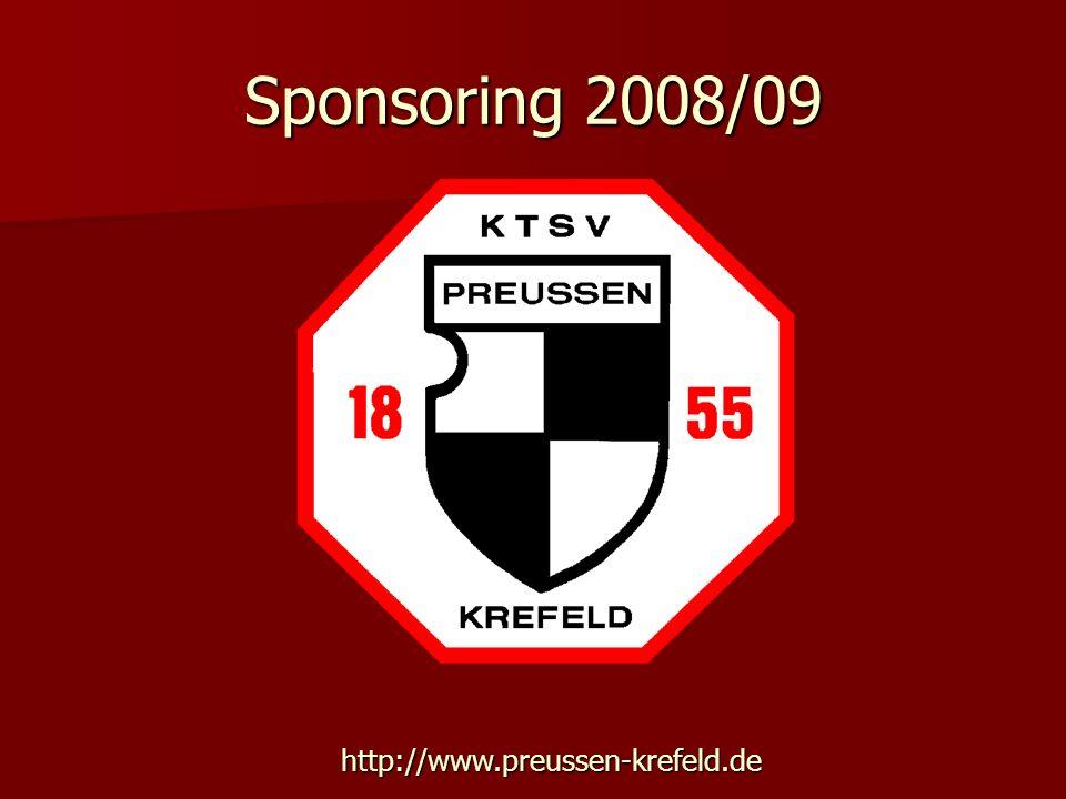 Sponsoring 2008/09 http://www.preussen-krefeld.de