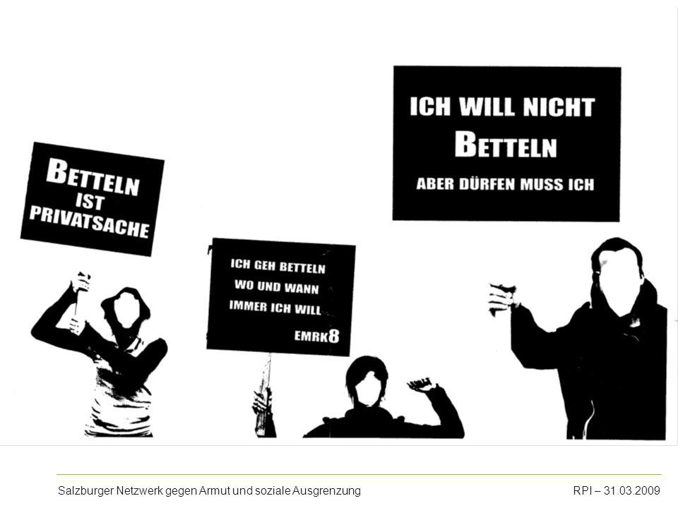 Salzburger Netzwerk gegen Armut und soziale AusgrenzungRPI – 31.03.2009