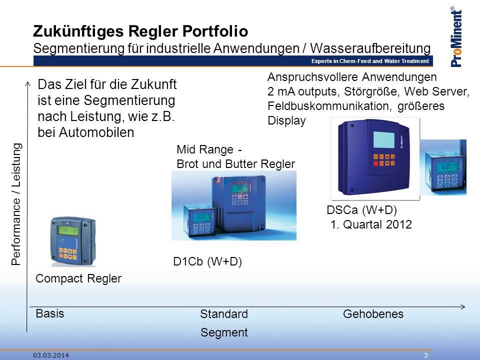 Experts in Chem-Feed and Water Treatment Compact Regler pH/Redox Was ist der Compact Regler für ein Produkt.
