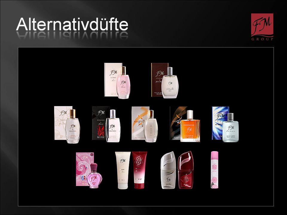Drom ein Produzent von Duftkompositionen für Markenparfums existiert 100 Jahre.
